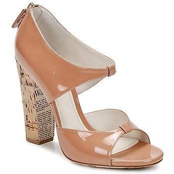 Sandale John Galliano AN6364 Rose / Beige 350x350
