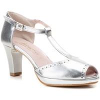 Chaussures Femme Sandales et Nu-pieds Annora Zapatos  Argenté