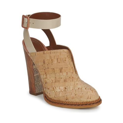 Chaussures Femme Sabots John Galliano AN9211 Beige