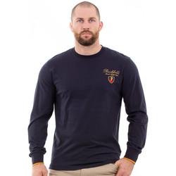 Vêtements Homme T-shirts manches longues Ruckfield T-shirt marine French Rugby Club Bleu