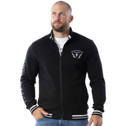 Vêtements Homme Sweats Ruckfield Sweat zippé maori rugby Noir