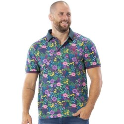 Vêtements Homme Polos manches courtes Ruckfield Polo tropical Vert