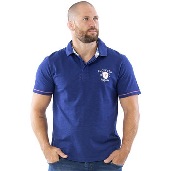Vêtements Homme Polos manches courtes Ruckfield Polo Rugby Bleu Bleu