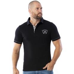 Vêtements Homme Polos manches courtes Ruckfield Polo manches courtes Maori Noir