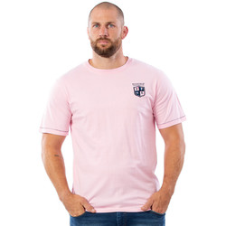 Vêtements Homme T-shirts manches courtes Ruckfield T-shirt rose We are rugby Rose