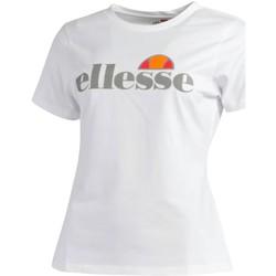 Vêtements Femme T-shirts manches courtes Ellesse ZUNIS TEE BLANC