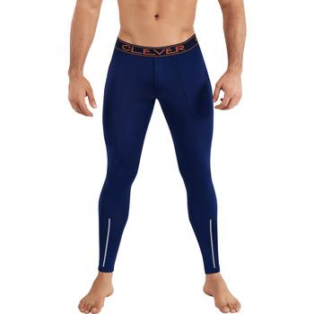 Vêtements Homme Leggings Clever Caleçon long Newport Bleu