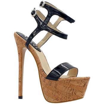 Chaussures Femme Sandales et Nu-pieds Kiara Shoes KH101 Noir