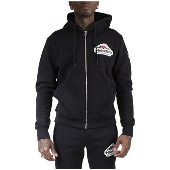 Vêtements Homme Sweats Helvetica Sweat à capuche Noir