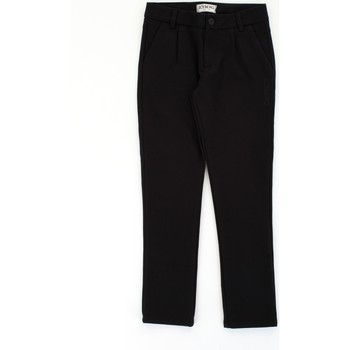 Vêtements Garçon Pantalons 5 poches Iceberg 90348764 Noir