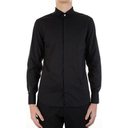 Vêtements Homme Chemises manches longues Manuel Ritz 3030E652-213229 Noir