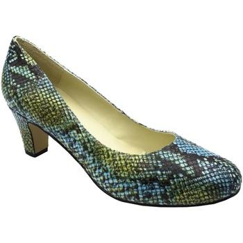 Chaussures Femme Escarpins Grande Et Jolie 581-A-B Blue
