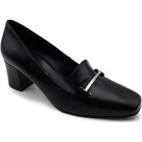 Chaussures Femme Mocassins Grande Et Jolie 312-C BCK Black