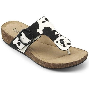 Chaussures Femme Sandales et Nu-pieds Hotter Resort Cow Print White