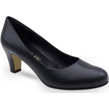 Chaussures Femme Escarpins Grande Et Jolie Escarpin  à talon  SALON-A Navy