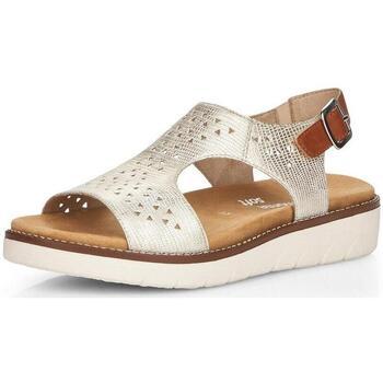 Chaussures Femme Sandales et Nu-pieds Remonte Dorndorf Sandale  D2055-90 LightGoldenRodYellow