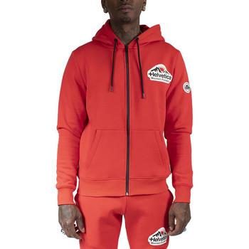 Vêtements Homme Sweats Helvetica Sweat à capuche Rouge