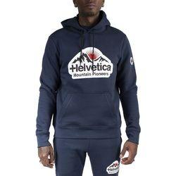 Vêtements Homme Sweats Helvetica Sweat à capuche Bleu