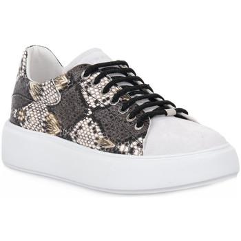 Chaussures Femme Baskets basses Frau NERO NAPPA Nero