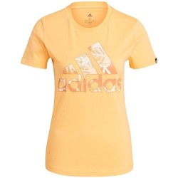 Vêtements Homme T-shirts manches courtes adidas Originals Tropical Graphic Orange