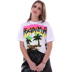 Vêtements Femme T-shirts manches courtes Disclaimer 21EDS50632 Blanc
