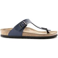 Chaussures Femme Tongs Birkenstock 143621 Bleu