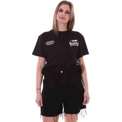 Vêtements Femme T-shirts manches courtes Disclaimer 21EDS50642 Noir