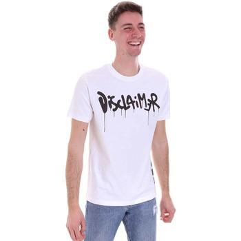 Vêtements Homme T-shirts manches courtes Disclaimer 21EDS50565 Blanc