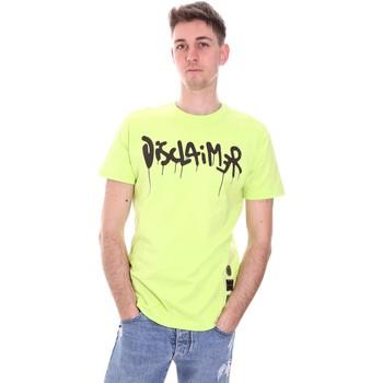 Vêtements Homme T-shirts manches courtes Disclaimer 21EDS50565 Vert