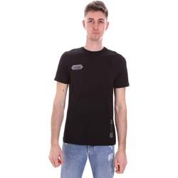 Vêtements Homme T-shirts manches courtes Disclaimer 21EDS50517 Noir