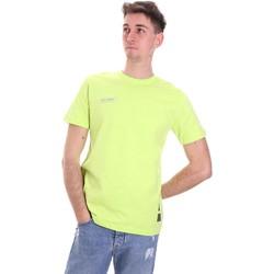 Vêtements Homme T-shirts manches courtes Disclaimer 21EDS50517 Vert