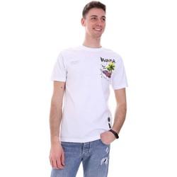 Vêtements Homme T-shirts manches courtes Disclaimer 21EDS50522 Blanc