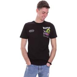 Vêtements Homme T-shirts manches courtes Disclaimer 21EDS50522 Noir
