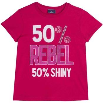 Vêtements Enfant T-shirts manches courtes Chicco 09067157000000 Rose