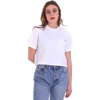 Vêtements Femme T-shirts manches courtes Dickies DK0A4XDEWHX1 Blanc
