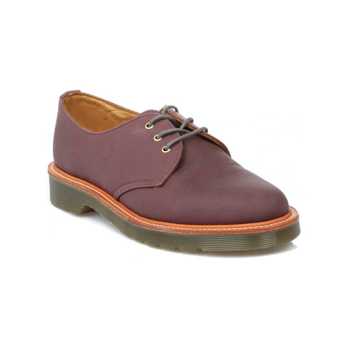Dr Martens Dr. Martens Mens Purple Lester Shoes Dr Martens_448 - Chaussures Derbies Homme