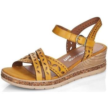 Chaussures Femme Sandales et Nu-pieds Remonte Dorndorf D3055-68 GELB