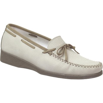Chaussures Femme Mocassins Marco NICE NUBUCK Beige nubuck