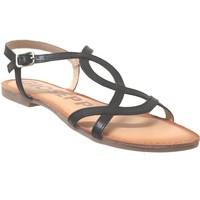 Chaussures Femme Sandales et Nu-pieds Gioseppo Navassa Noir cuir
