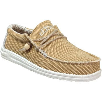 Chaussures Homme Mocassins Dude Wally braided Jaune