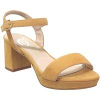 Chaussures Femme Sandales et Nu-pieds Folies 2004 jaune velours