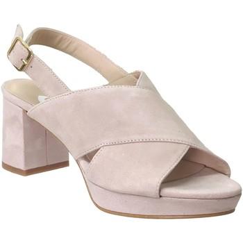 Chaussures Femme Sandales et Nu-pieds Folies 2003 Rose pâle