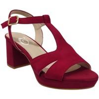 Chaussures Femme Sandales et Nu-pieds Folies 2001 Rouge velours