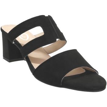 Chaussures Femme Mules Folies 1210 Noir velours
