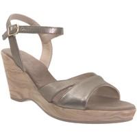 Chaussures Femme Sandales et Nu-pieds Folies 3204 Taupe cuir