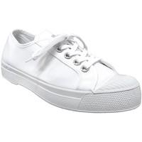 Chaussures Femme Baskets basses Bensimon Romy b79 Blanc toile