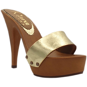 Chaussures Femme Mules Kiara Shoes K9302 Or