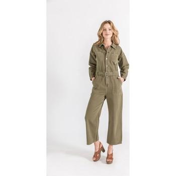 Vêtements Femme Combinaisons / Salopettes Toxik3 Combinaison Kaki