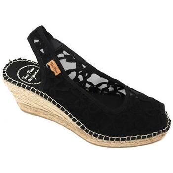 Chaussures Femme Sandales et Nu-pieds Toni Pons MINORCHINA  - BEA NOIR Noir