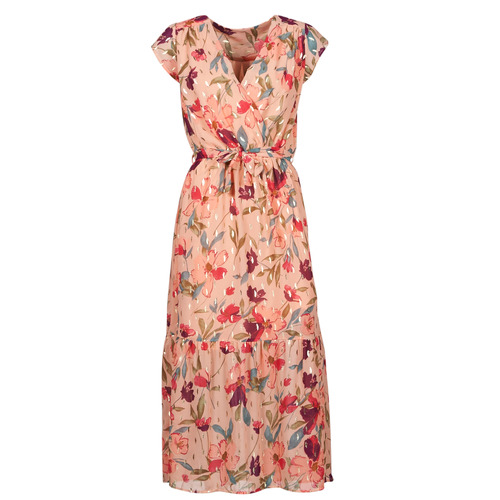 Vêtements Femme Robes longues Moony Mood OLICA Rose / Multicolore